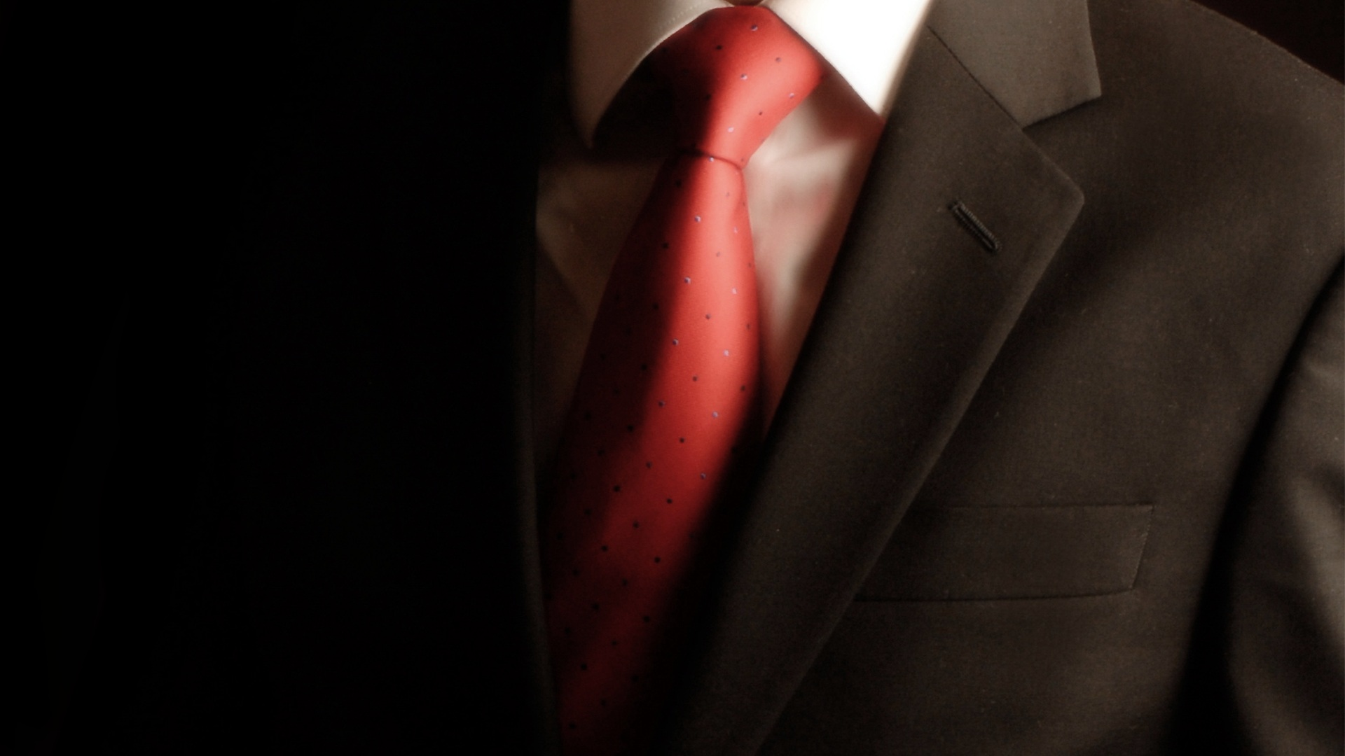 Expensive suit high quality material and fabric custom made bespoke Red Tie